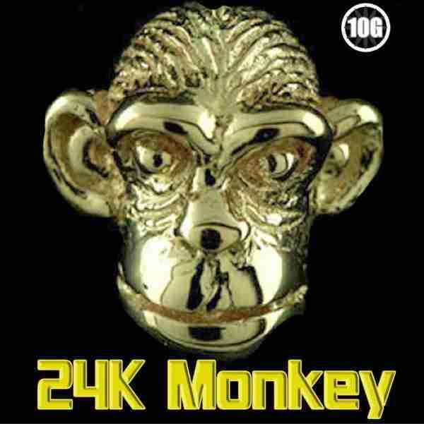 24K Monkey Classic 10g