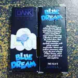 Blue Dream dank vape Cartridge   Buy Blue Dream 1.1g   Blue Dream Cart